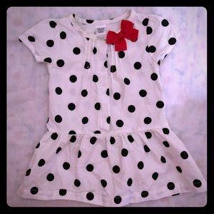 Carters Polka Dot Dress Size 6M